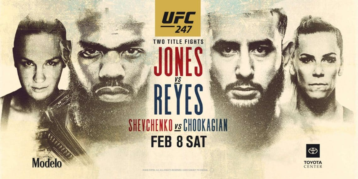 UFC 247: Jones vs. Reyes 1