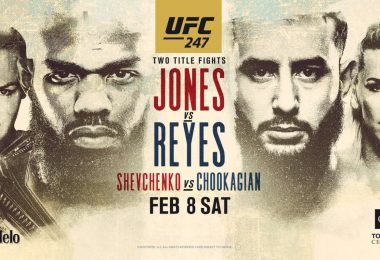 Risultati UFC 247: Jones vs. Reyes 4
