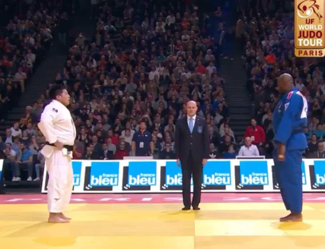 Paris Grand Slam di Judo: Teddy Riner sconfitto. 1
