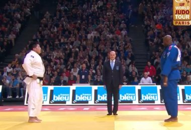 Paris Grand Slam di Judo: Teddy Riner sconfitto. 6