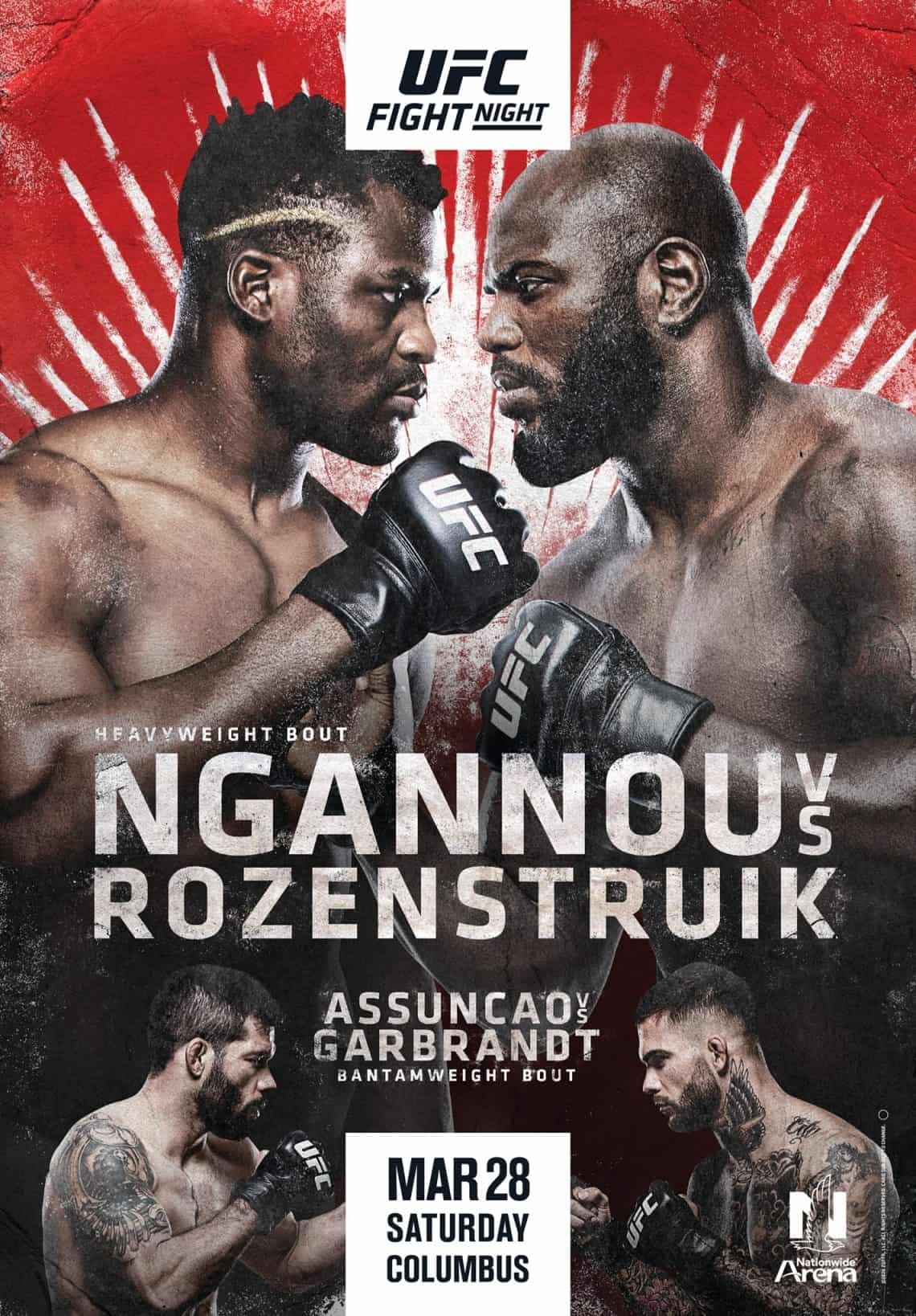 UFC on ESPN 8: Ngannou vs. Rozenstruik 1
