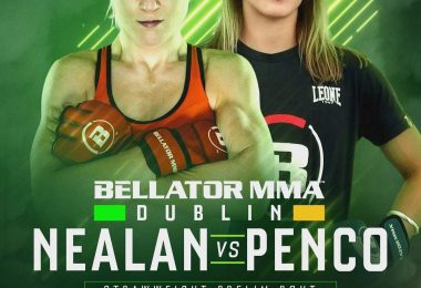 Bellator Dublino: Chiara Penco vs Danni Neilan - risultati weight in 9