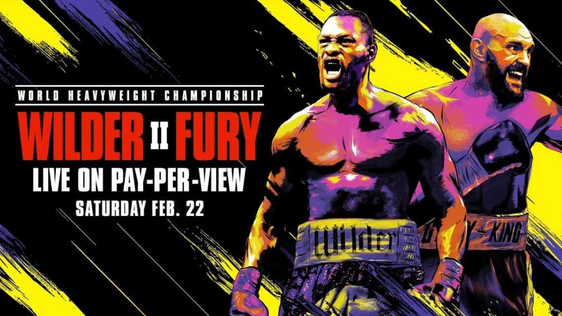 Risultati Wilder vs Fury II: Wilder distrutto in 7 riprese. 1