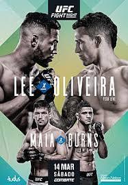 Risultati UFC Brasilia 2020: Lee vs. Oliveira 2