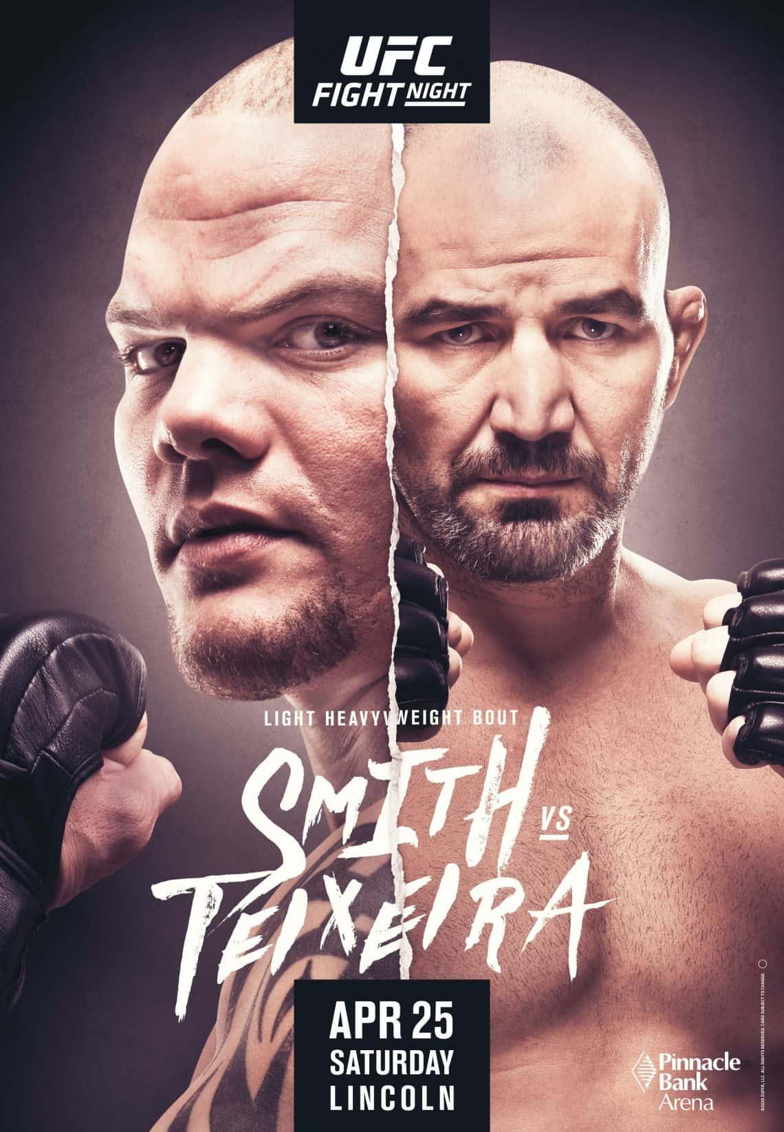 UFC Fight Night 173: Smith vs. Teixeira 1