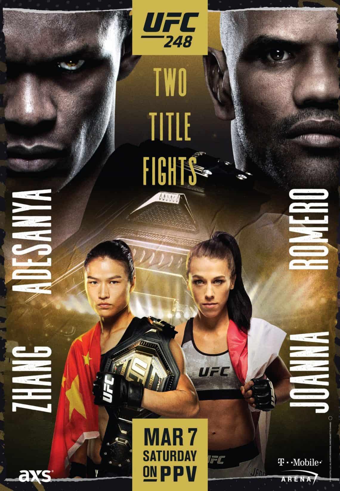 UFC 248: Adesanya vs. Romero 1