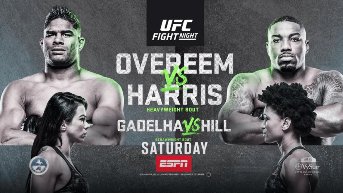 UFC on ESPN 8: Overeem vs Harris (con Mara Romero Borella ) 1