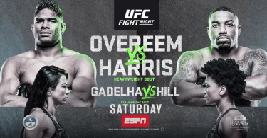 Risultati UFC on ESPN: Overeem vs. Harris 3