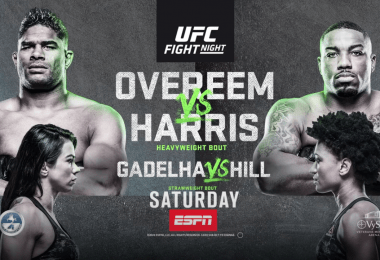 Risultati UFC on ESPN: Overeem vs. Harris 12