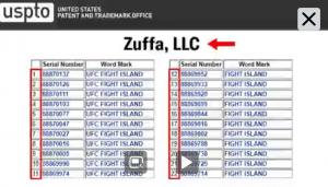 Fight Island & UFC Fight Island sono marchi protetti 2