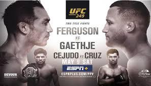 Risultati UFC 249: Gaethje vs. Ferguson 8