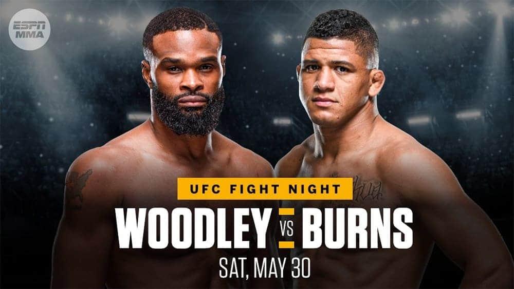 UFC on ESPN : Woodley vs Burns 1