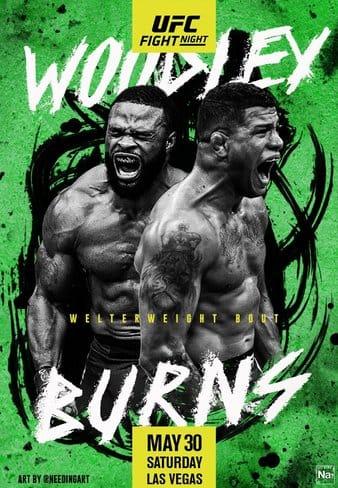 UFC on ESPN : Woodley vs Burns 2