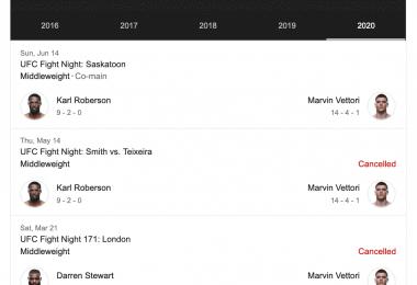 Marvin Vettori nel Main event di sabato 11