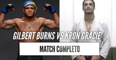 Video: Gilbert Burns vs Kron Gracie 2011 (Match Completo) 7