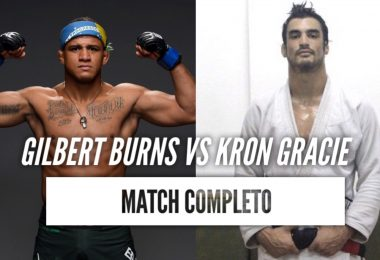 Video: Gilbert Burns vs Kron Gracie 2011 (Match Completo) 9