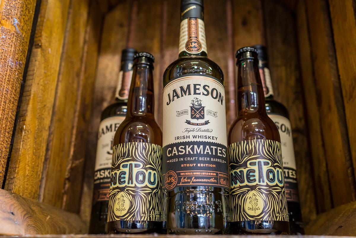 Introductie Jameson Caskmates & Winnetou