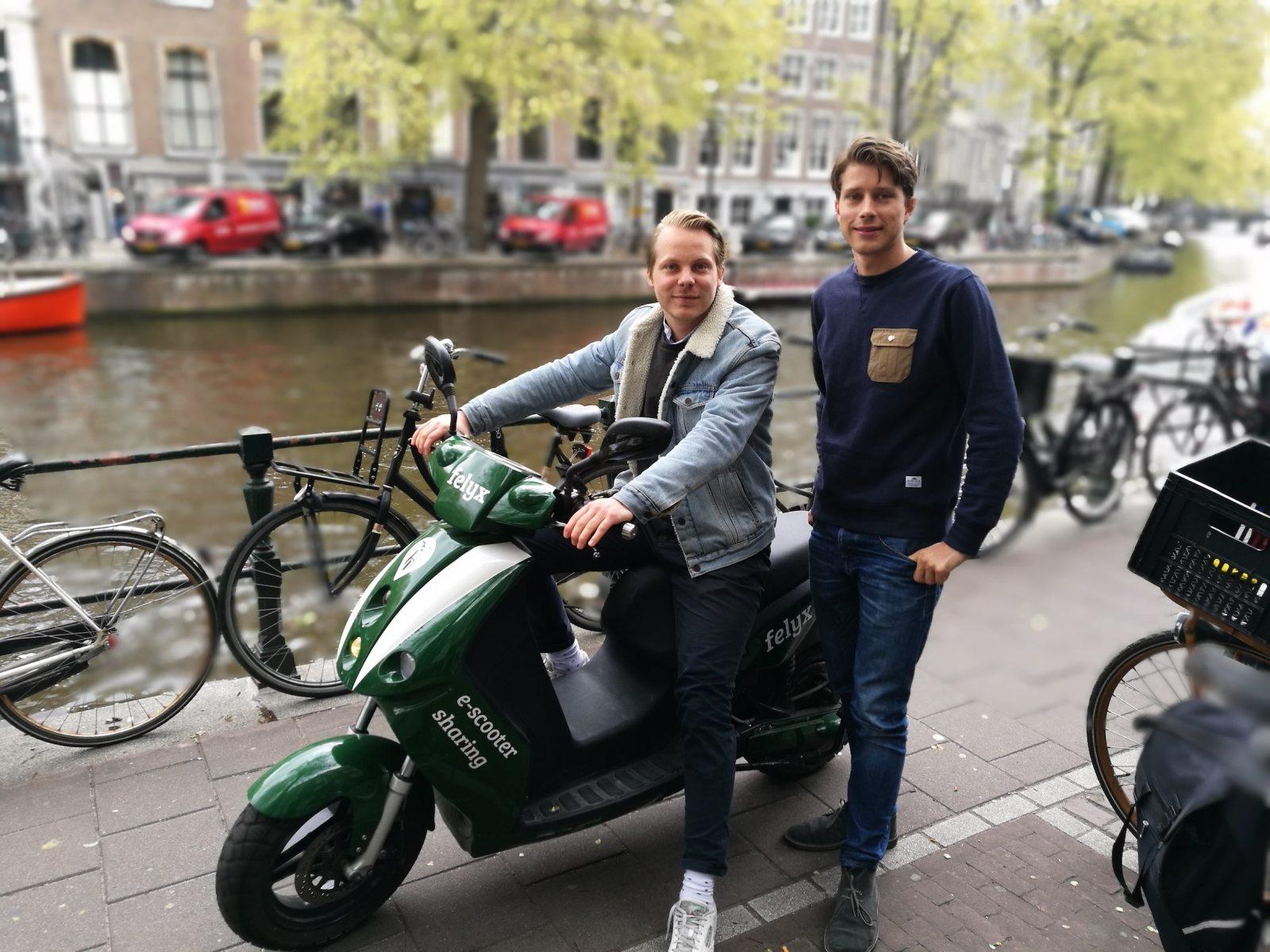 Deelscooter startup felyx ontvangt funding door pr-aandacht