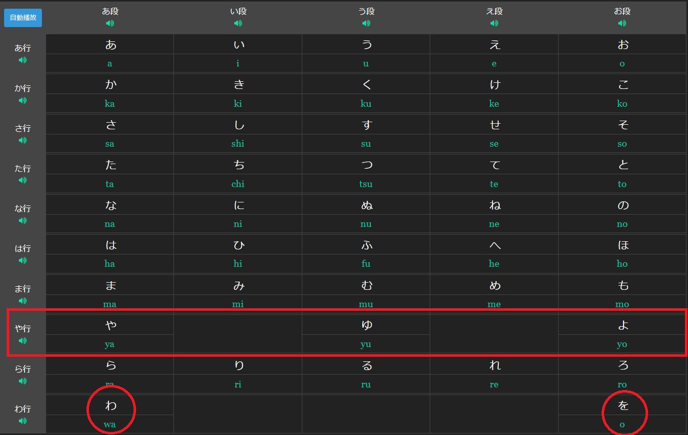marumaru special hiragana