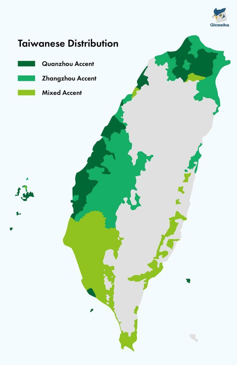 台灣台語分布