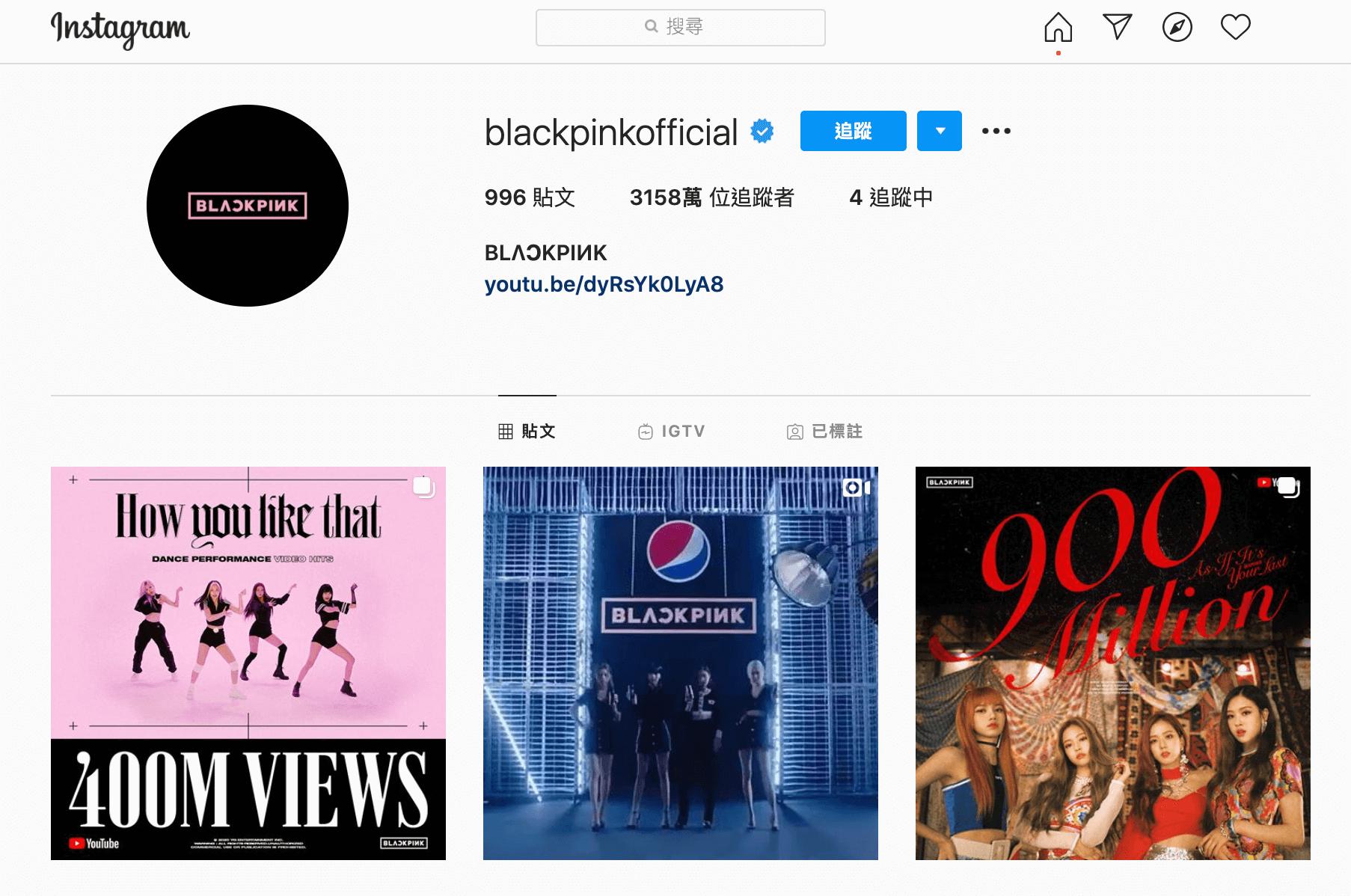 Instagram-blackpink