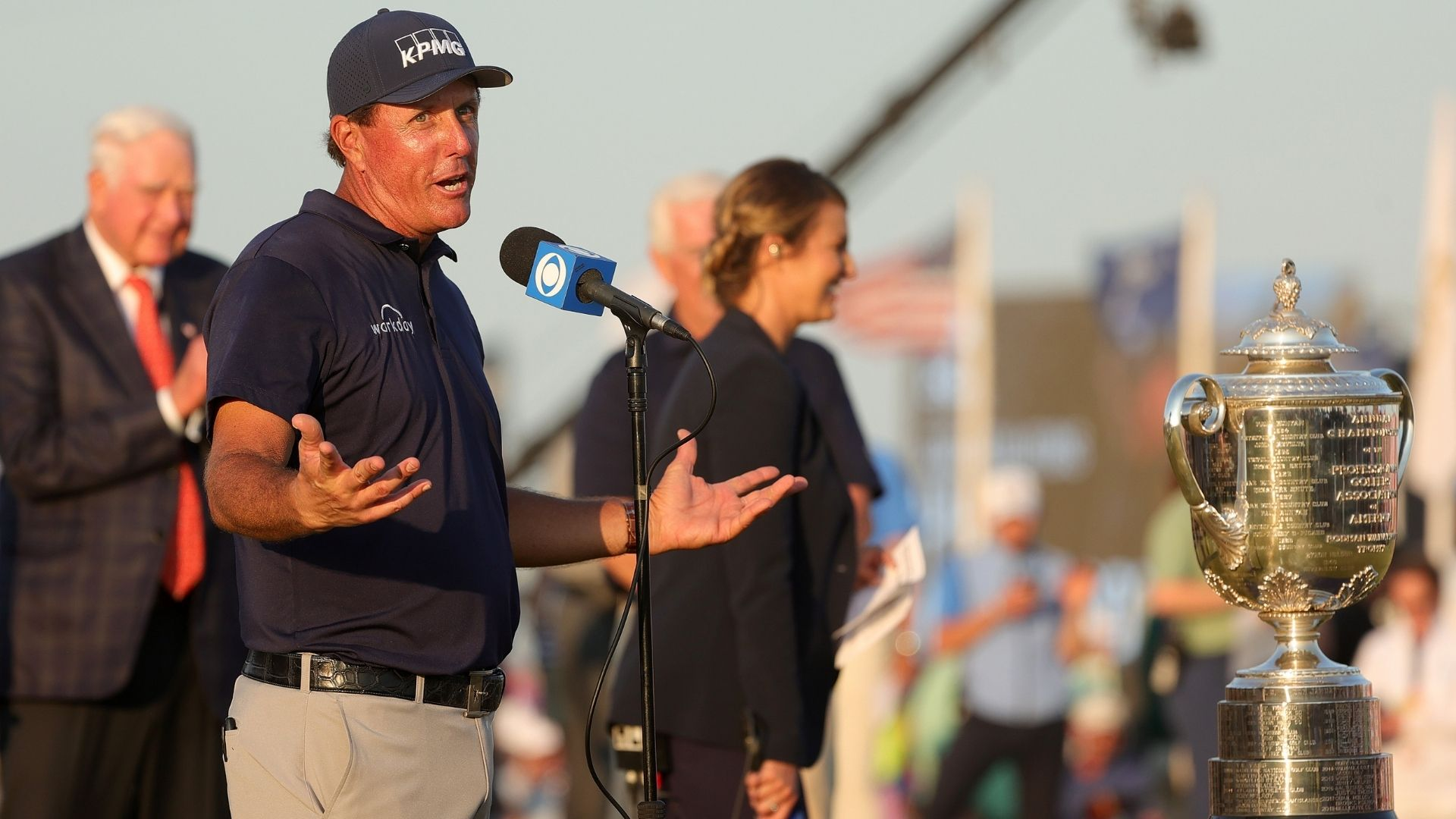 """Phil Mickelson: """"I love to compete, I love playing the game"""""""