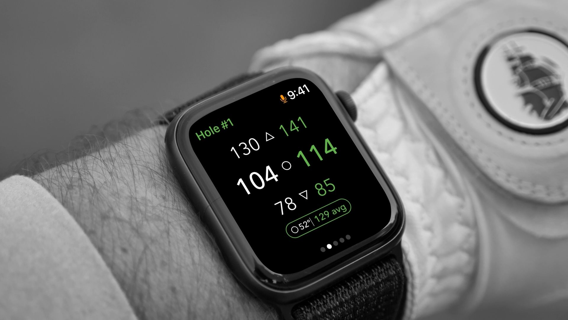 All in the Flick of the Wrist: New Caddie Apple Watch App