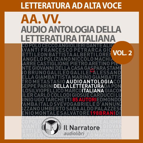 Audio antologia della letteratura italiana- Vol. 2 (1800-2000)-0