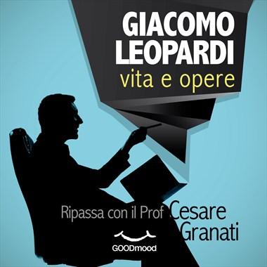 Giacomo Leopardi: vita e opere-0