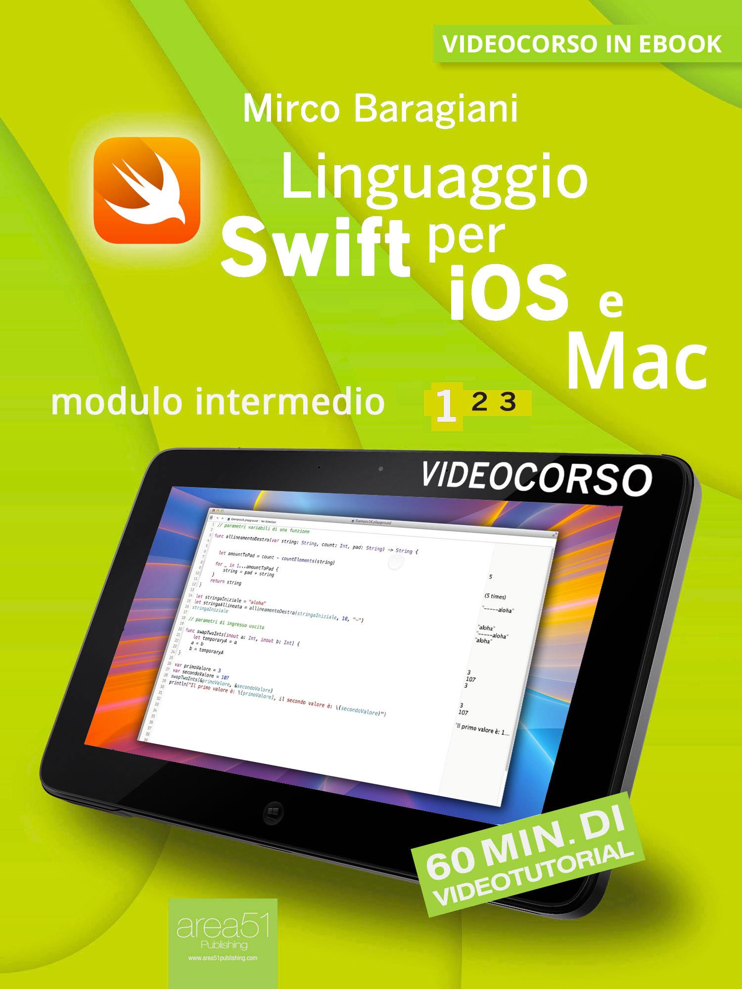 Linguaggio Swift per iOS e Mac 1-0