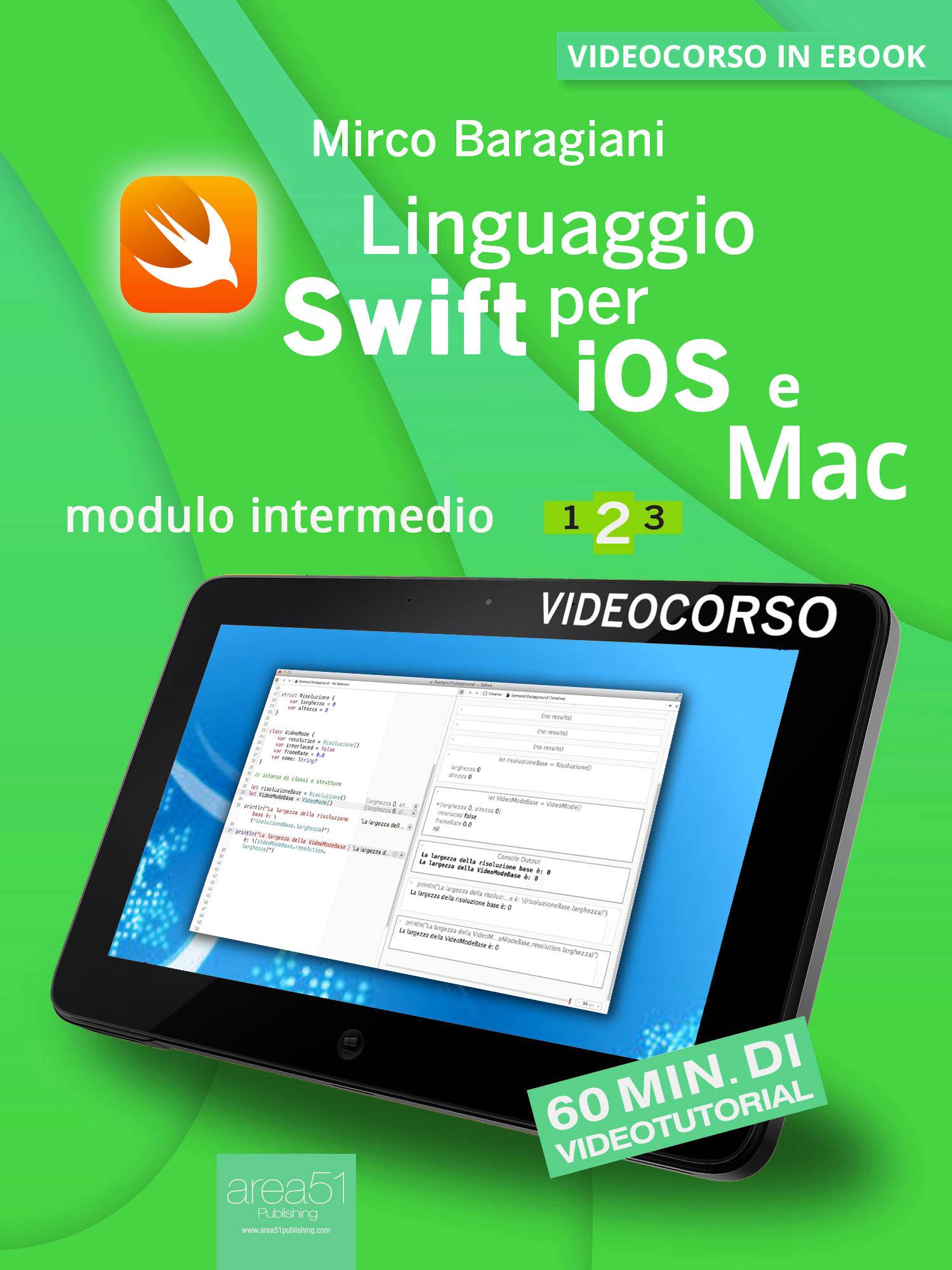Linguaggio Swift per iOS e Mac 2.-0