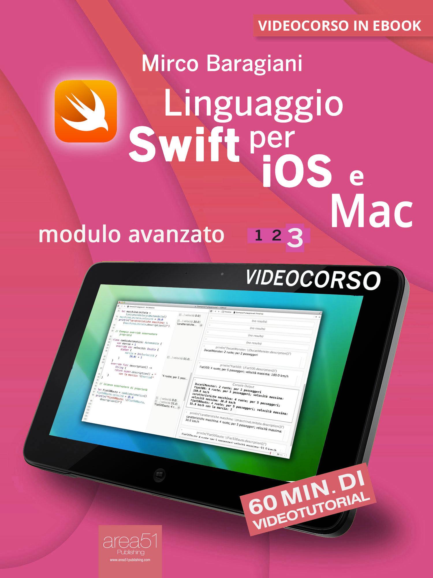 Linguaggio Swift per iOS e Mac 3-0