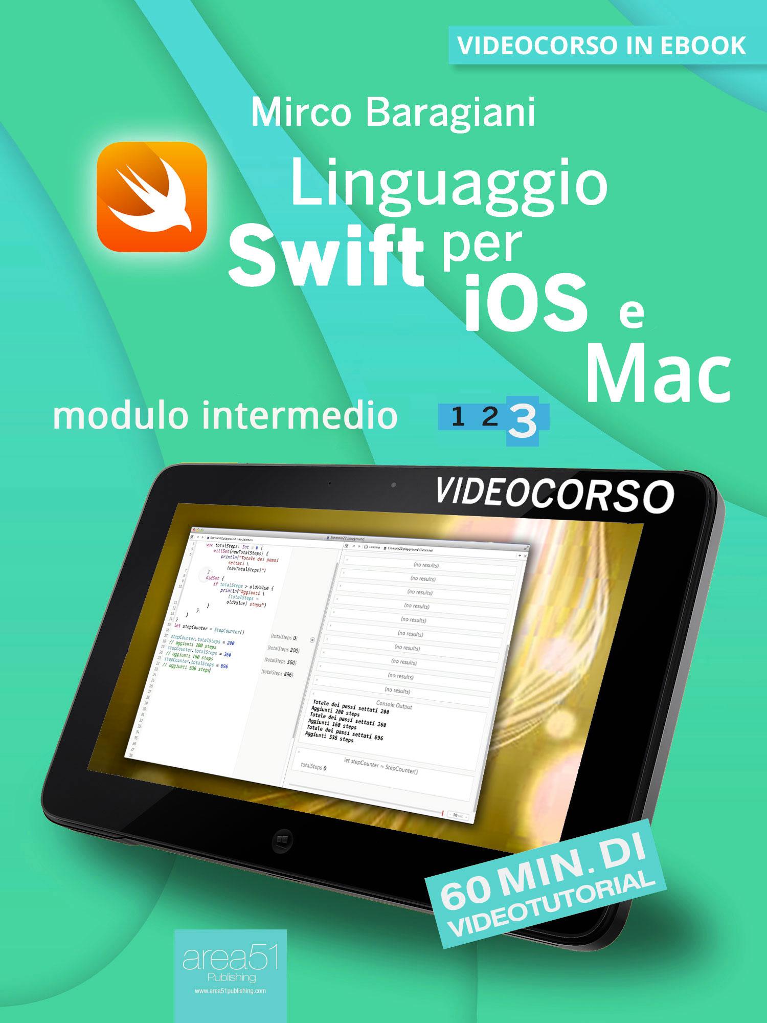 Linguaggio Swift di Apple per iOS e Mac 3.-0
