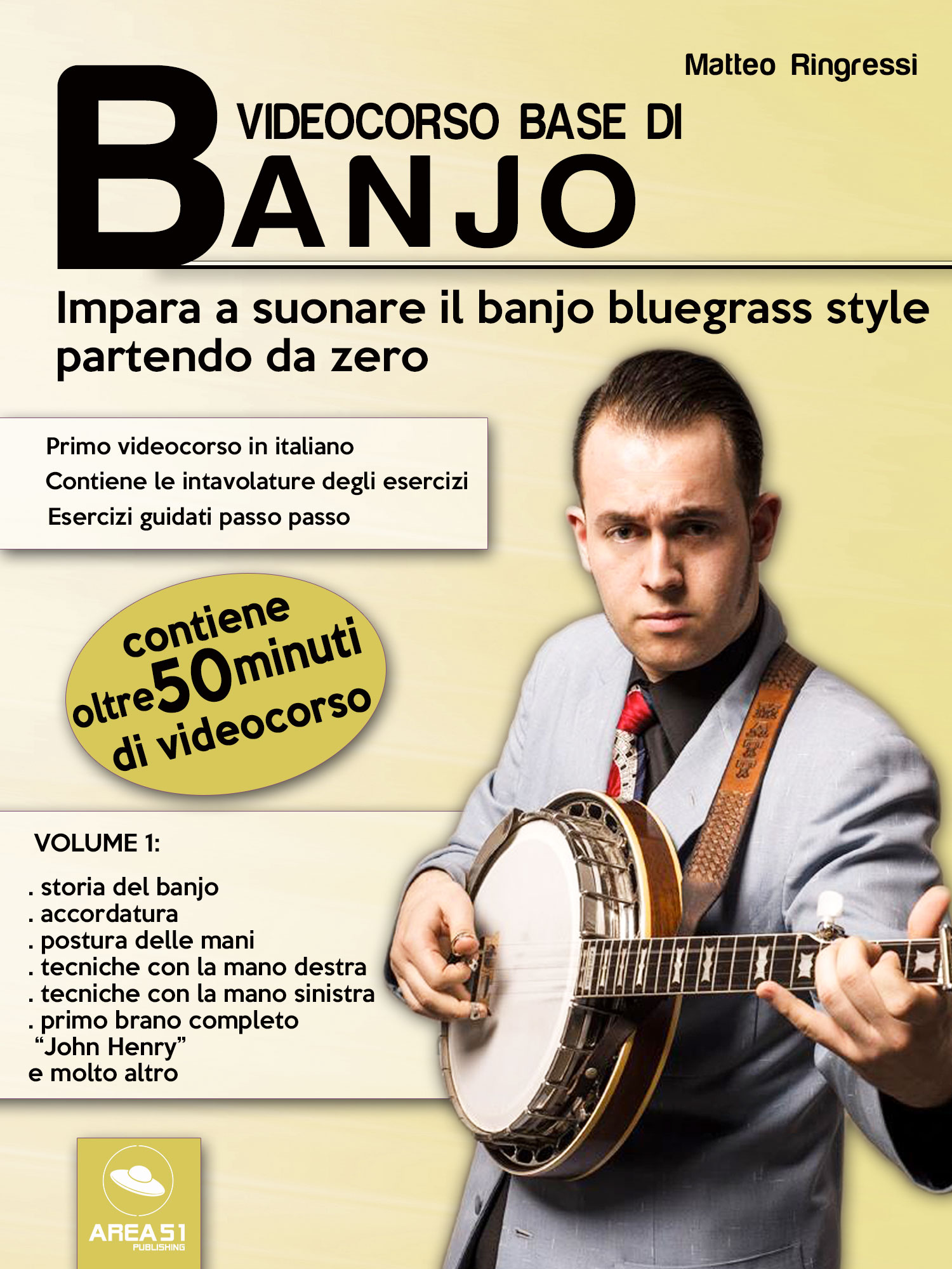 Videocorso base di banjo. Volume 1-0