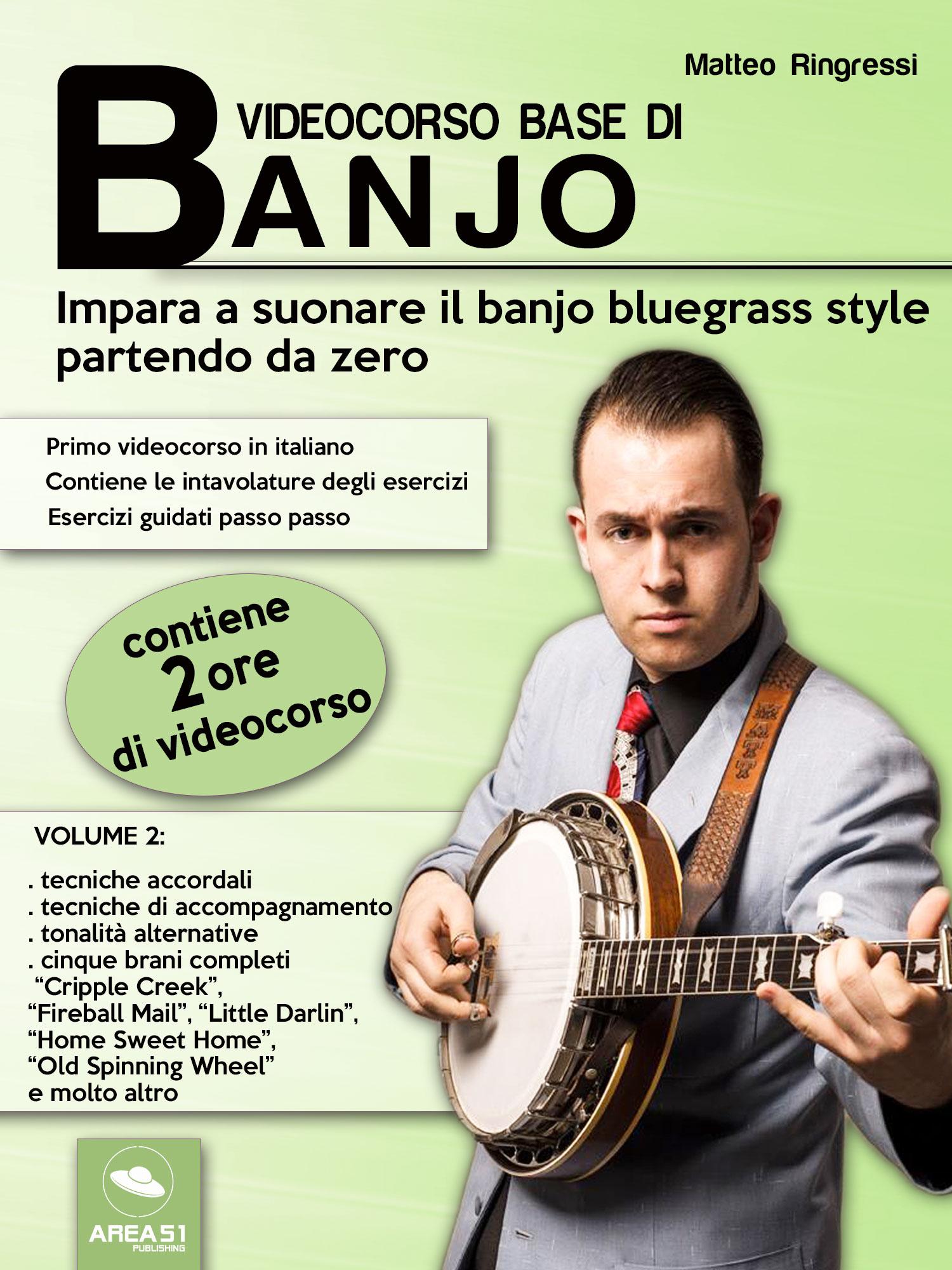 Videocorso base di banjo. Volume 2-0