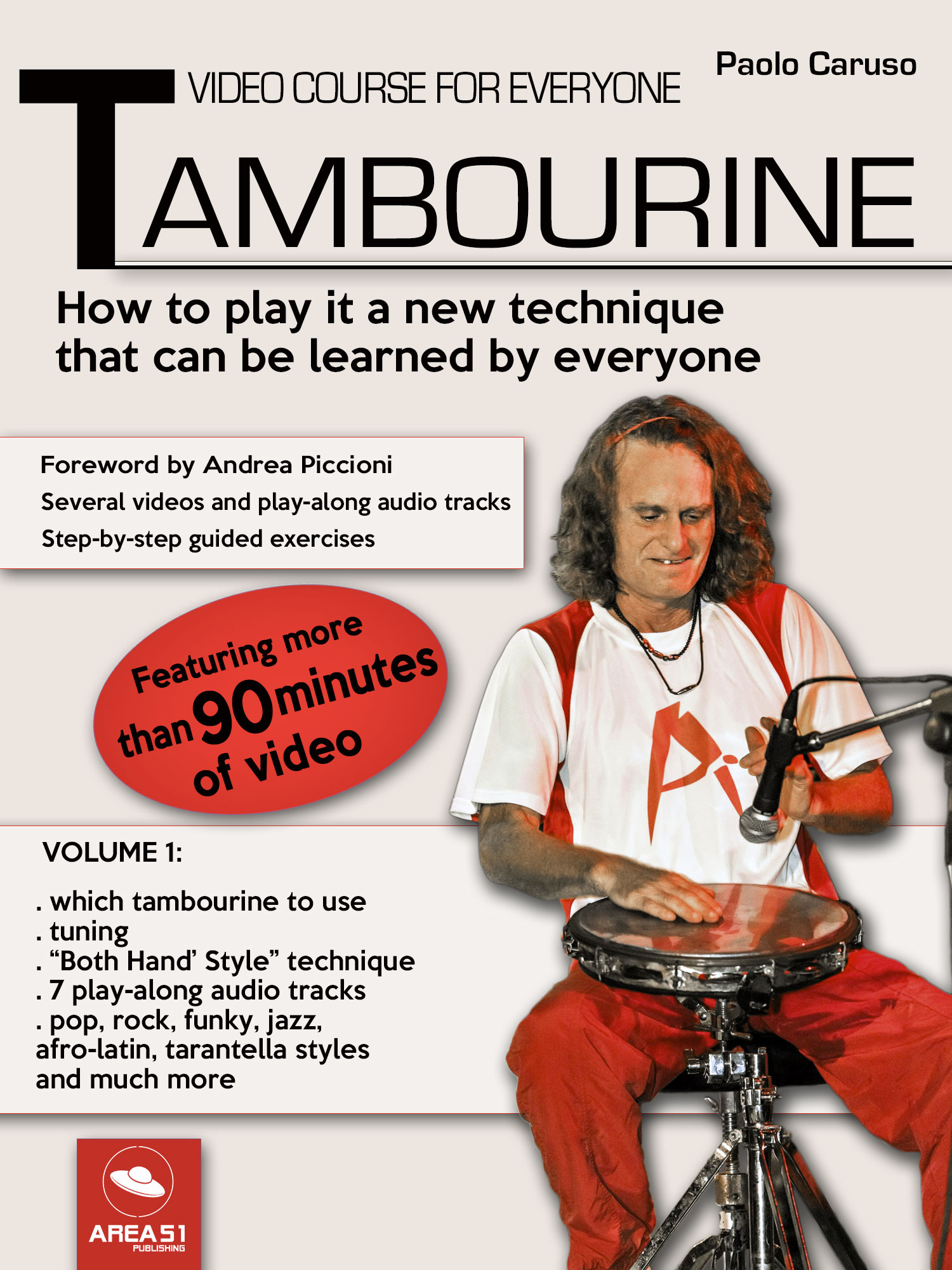 Tambourine. Video course for everyone - Volume 1-0