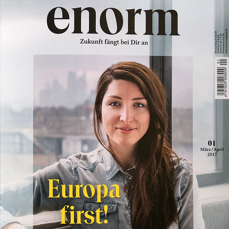 Enorm cover