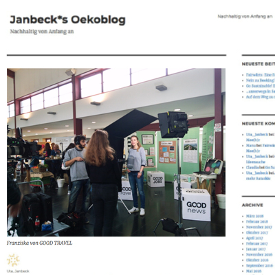 Janbecks blog