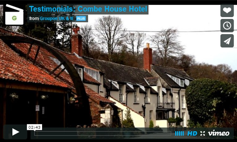 Merchant Success Story: Combe House Hotel – Groupon ...
