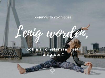 lenig worden oefeningen yoga