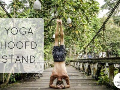 yoga hoofdstand