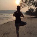 Boomhouding Yoga, balans van top tot teen