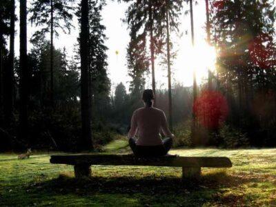 meditatiebankje