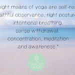 Het achtvoudige pad van Yoga