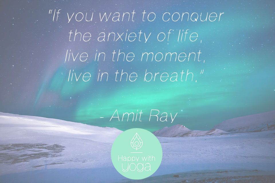 Citaten Yoga : Just breathe quotes over de ademhaling happy with yoga