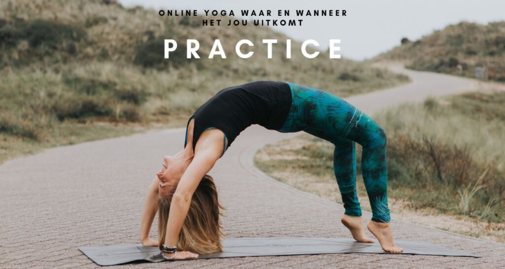 Practice online yoga