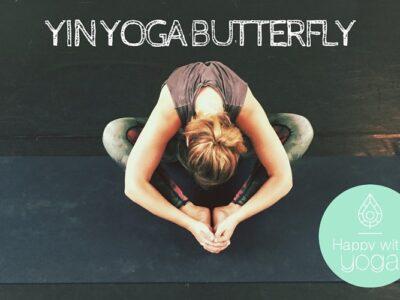 Yin Yoga Butterfly pose