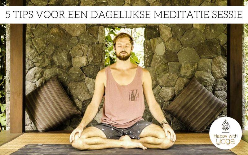 dagelijkse meditatie