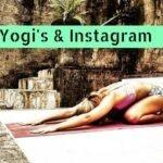 Échte Yogi's volgen Instagram…toch?