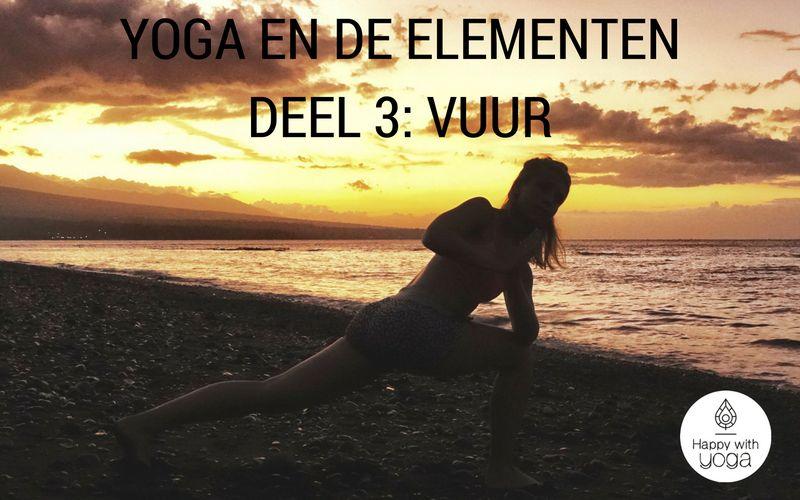 yoga en de elementen vuur